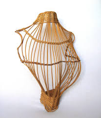Wicker Light Fixture by On Sale French Wicker Mannequin Torso Woven Shop Display Form
