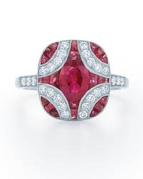 ruby wedding rings 34 royal ruby engagement rings martha stewart weddings