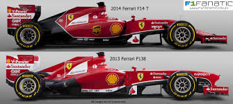 formula 3 vs formula 1 ferrari f14 t and f138 side f1 fanatic