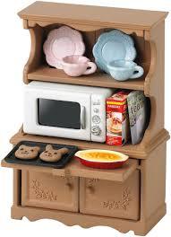 sylvanian families cuisine sylvanian families 3561 mini poupée ensemble cuisine et four