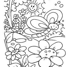 spring coloring sheets page to color best 25 spring coloring pages ideas on pinterest adult