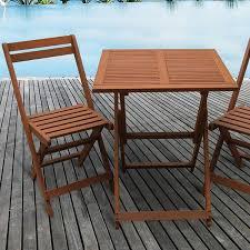 chaise e 60 salon de jardin en bois exotique hanoï bali marron clair