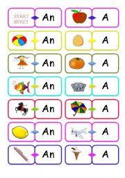 english teaching worksheets a an