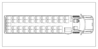 school bus floor plan glaval concorde ii bus specifications and photos sales service