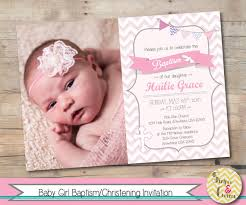baptism invitation christening invite personalized