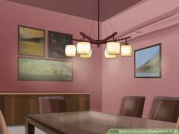 ideas for dining room walls how to decorate dining room walls 13 steps with pictures