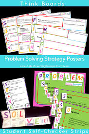 Working Backwards Problem Solving Worksheet 5 Steps To Successful Problem Solving From A Plus Teaching Resources