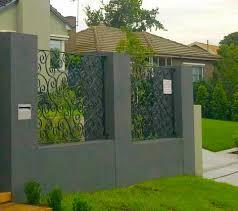 cloture de jardin pas cher clôture en fer forgé extérieur jardin villa maison pas