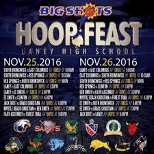 laney high school hosts annual hoop feast thanksgiving weekend