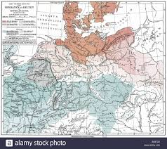 Historical Maps Of Europe by Cartography Historical Maps Ancient World Germania At The Time