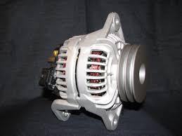 new alternator for nissan lift truck f03 td42 volt wiring