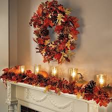 harvest decorations harvest decor wreaths pinecone mantels decor and