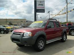 nissan frontier xe 2002 2001 nissan frontier xe v6 crew cab 4x4 in salsa red metallic