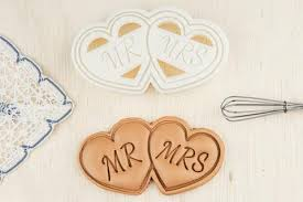 wedding cookie cutters mr and mrs heart wedding cookie cutters name that cookie
