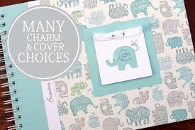 boy baby book elephant baby book baby memory book