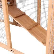 oz crazy mall rabbit hutch chicken coop guinea pig ferret cage