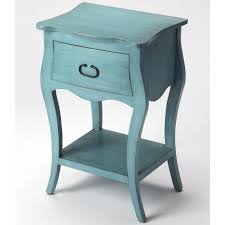Turquoise Side Table Nightstand Beautiful Vintage Green Side Table With Drawer Ald