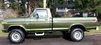 1975 Ford Truck Colors - ford highboy f 250 ranger 4x4 390 auto a c locking hubs buy it now