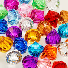 gems for table decorations ifavor123 com acrylic pendant 1 inch table scatter confetti party