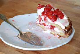 double decker strawberry summer cake