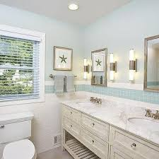 Cottage Bathroom Designs Cottage Bathroom Blue Tiles Design Ideas