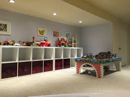 Playroom Storage Furniture by Ikea Kallax System With Lekman Storage Bins So Much Space For