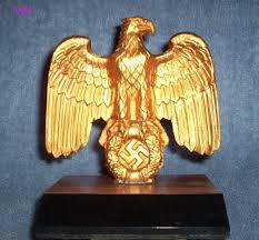 question eagle desk ornament real or