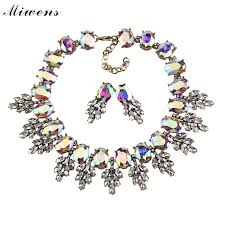 collar necklace fashion images Luxury big gems choker necklace fashion vintage crystal collar jpg