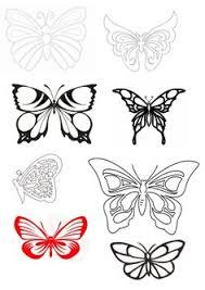 kaisercraft stencils template butterfly stencil templates