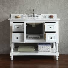 Traditional Bathroom Vanity by New 42 U0027 Cape Cod Bathroom Vanity White Traditional Bathroom