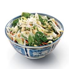 cuisiner des epinards salade d épinards à la thaï recettes cuisine et nutrition