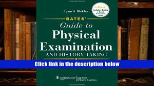 free download bates guide to physical examination and history