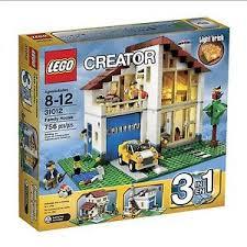 light brick sets creator family house 31012 new 899998832232 ebay