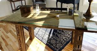 Diy Door Desk Diy Barn Door Desk