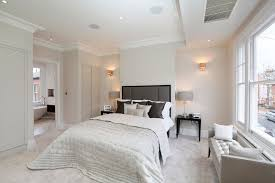 Bedroom Crown Molding Bedroom Color Schemes For A Contemporary Bedroom With A White