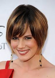 short hairstyles for women with thick hair and glasses