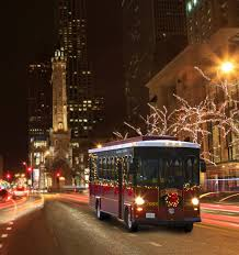 chicago trolley holiday lights tour chicago trolley s holiday lights tour kidlist activities for kids