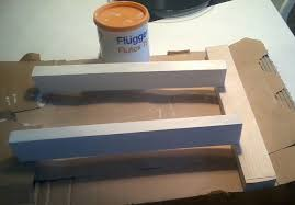 Tjusig Bench With Shoe Storage Tjusig Shoe Rack Turned Small Bench Ikea Hackers Ikea Hackers
