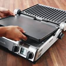 smart countertop breville smart grill griddle williams sonoma