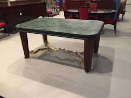 Art Deco Dining Room Sets French Art Deco Dining Table With Marble Top U0026 Gold Hardware