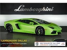 lamborghini car dealerships used lamborghini aventador for sale in dallas tx edmunds