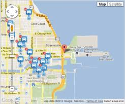 navy pier map map of navy pier chicago chicago map