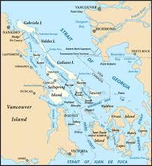 islands map gulf islands