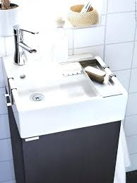 sinks small for bathrooms tiny pedestal sink cabinet space
