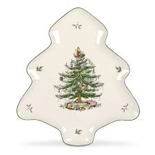spode tree shaped platter spode tree