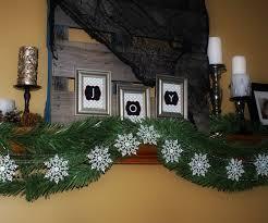 decorations snowflake garland