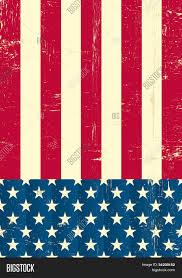 Flags American American Vintage Flag American Vector U0026 Photo Bigstock