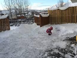 snow blizzard day nordic mum