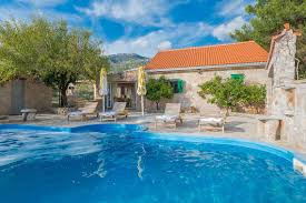 Cv Villas by Private Accommodation Luxury Villa Zlatni Rat With Pool By The