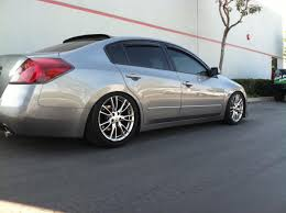 nissan altima coupe front lip fitted flush stanced or slammed altimas page 11 nissan